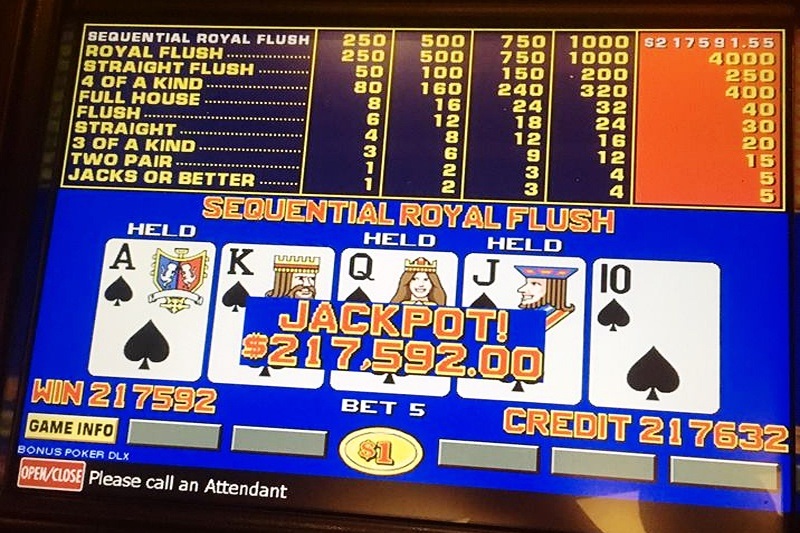 Sequential Royal Flush
