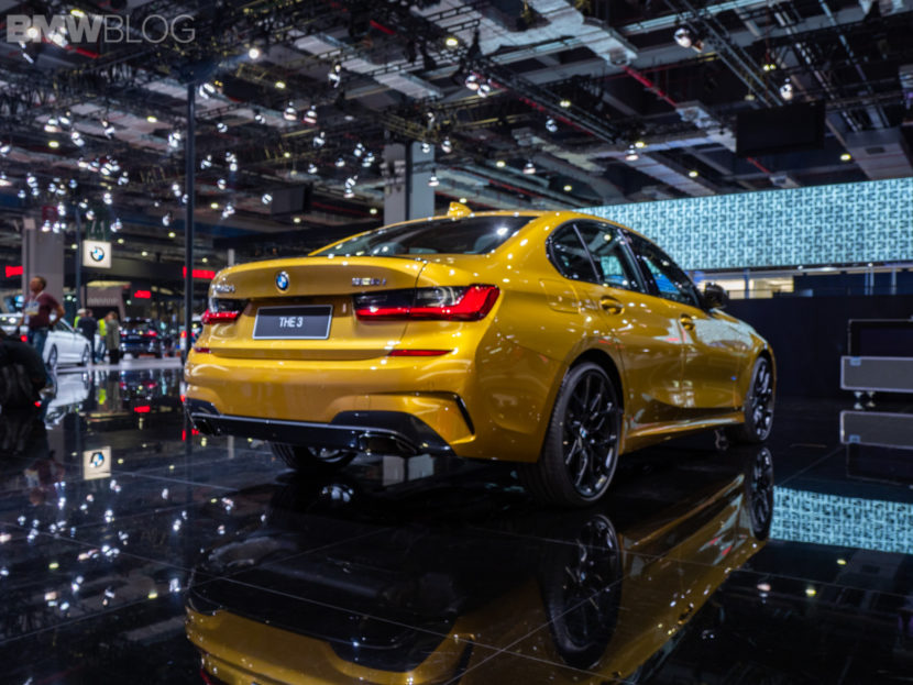 New BMW 3 Series launches in Shanghai in Galvanic Gold