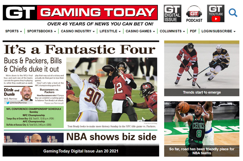 Gaming Today magazine sold